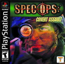 Spec Ops: Covert Assault Sony PlayStation 1 NIB Take 2 Interactive NIP 2001