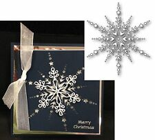 Christmas dies - DAZZLING SNOWFLAKE - MEMORY BOX DIE 99041 Holidays,All Occasion