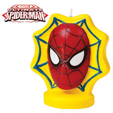 Wilton SPIDERMAN BIRTHDAY CANDLE Party Cake Theme Supplies
