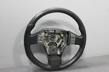 03 04 Infiniti G35 Black Leather Steering Wheel Audio Cruise Control Buttons