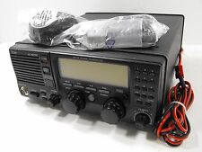 Icom IC-M710 MF/HF Channalized Ham Transceiver Radio w/ HM-180 Microphone + Cord