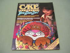 The Wilton 1982 Cake Decorating Yearbook - Full of Great Ideas!