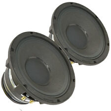 """Pair Radian 5208C 2-Way Coaxial Speaker Woofer 8"""" 8 Ohm 500 W RMS Replacement"""
