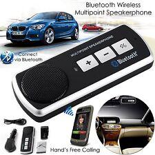 Bluetooth Car Speakerphone-Wireless Handsfree Car Kit,Multipoint Speakerphone