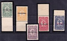 Colombia, BETROSSA Nos. XXIX/XXXIII SCADTA Air Mail Issue of 1928, MNH