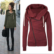New Women Casual Hoody Hoodie Sweater Hooded Pullover Sweatshirt Jumper Coat Top