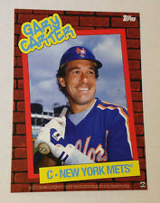 2014 Topps 1980s Throwback Thursday GARY CARTER #40/49 Mets 5x7 Postcard Print