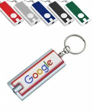 50 Personalized Light-up Key Chains with Your FULL COLOR Logo/Message