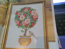 'Pretty in Pink' Sue Page cross stitch chart.