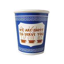 """Exceptionlab Inc. 10-Ounce Ceramic Cup """"We are happy to serve you"""" classic NYC"""
