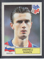 Panini - USA 94 World Cup - # 114 Andreij Ivanov - Rossija (Black Back)