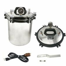 CE FDA 18L Stainless Steel Steam Autoclave Sterilizer Medical sterilization