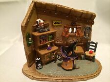 WEE FOREST FOLK SPECIAL LTD COAXING KITTY WEE MOUSEY'S HALLOWEEN WITCH HOUSE