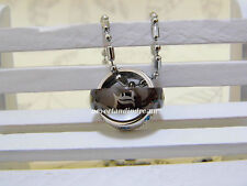 Anime Death Note L·Lawliet Ring Necklace Pendants with Chain Metal Gift