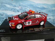 1/43 IXO Mitsubishi Lancer Evo X Rally Japan 2007