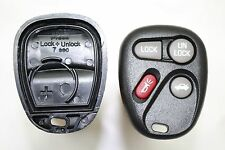 NEW Keyless Entry Remote Key Fob CASE ONLY REPAIR For a 2000 Pontiac Grand Prix