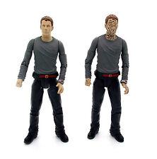 """Doctor Who Toby Zed poseía & Muy Raro unpossessed Variante de 5 """"Figuras De Acción"""