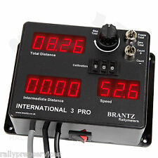 Brantz International 3 Pro Competition Trip Meter RACE RALLY OFF ROAD
