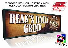 """LED Sign 56"""" x 22"""" with CUSTOM Graphics, Outdoor Commercial Grade"""
