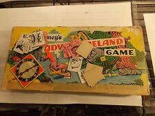 :) 1956 PARKER BROTHERS WALT DISNEY'S ADVENTURELAND GAME IN THE BOX