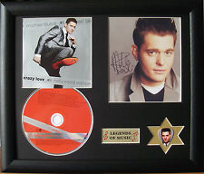 Michael Buble Crazy Love Genuine CD, Autograph & Plectrum Presentation