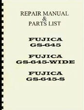 Fuji Fujica GS645, GS645W, GS645S Repair Manual