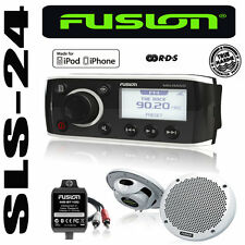 Fusion Marine radio ms-ra50kts + 2 altavoces + adaptador Bluetooth iPod iPhone