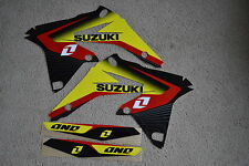 ONE INDUSTRIES DELTA  GRAPHICS SUZUKI  RMZ250  2010  2011  2012  2013 14 15  16