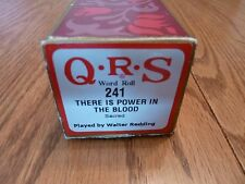 "QRS Pianola Roll - Hymn Tune - ""THERE'S POWER IN THE BLOOD"""