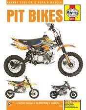 Haynes Manual 6035 - Pit Bikes - Lifan, Zongshen, Stomp, WPB, Demon-X, LMX, M2R