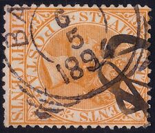 STRAITS SETTLEMENTS 1882 QV 8c USED with Neth Indies cancel(1894)  @P888