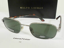 Polo Ralph Lauren 847 Argento / Silver occhiali da sole sunglasses New Original