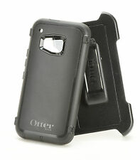 Genuine OEM Otterbox Defender HTC One M9 Holster Belt Clip Case Black Authentic