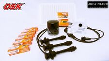 suits: CAMRY MCV36R V6 3.0L 1MZ-FE AIR OIL FUEL SPARK PLUGS+IGNITION LEADS 02-06