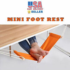 Novelty Portable Mini Office Foot Rest Stand Adjustable Desk Feet Hammock