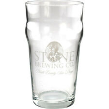 Stone Brewing Company Imperial Pint Glass - Draft Beer Drinking Cup Bar Supplies