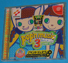 Pop'n Music 3 Append Disc - Sega Dreamcast DC - JAP