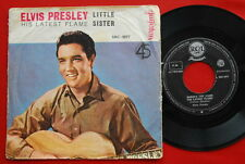 "ELVIS PRESLEY MARIE'S THE NAME HIS LATEST FLAME/LITTLE SISTER 1961 RARE YUG 7""PS"