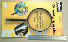 Rolson 100mm Diameter X2 Convex Magnifying Glass Lens