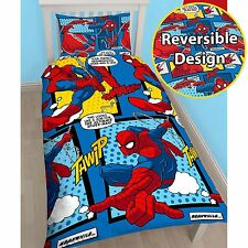 Officiel spiderman webhead simple parure de lit-rotary-kids bedding neuf