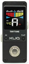 KLIQ TinyTune - Mini Chromatic Tuner Pedal for Guitar & Bass