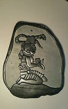 Slate Carving of Ixchel, Mayan Goddess Of Medicine/ Healing from Belize handmade