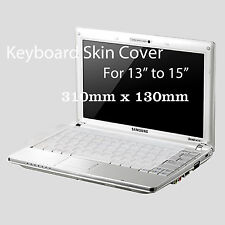 "Silicone Universal Keyboard Skin Cover For Notebook HP Acer Asus Sony 12"" - 15"""