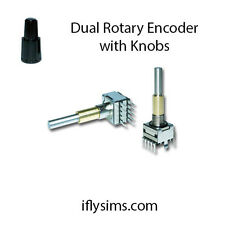 Dual Rotary Encoder - Concentric Encoder with Knobs
