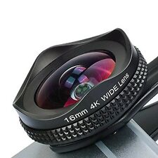 Apexel iPhone Lens, 16mm Wide Angle Camera Lens with CPL Filter Lens Kit for