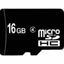 Real 16GB Micro SDHC TF Memory Card Cardreader Class 4 for Nokia, LG, HTC 16G