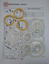1986 Zaccaria Zankor Pinball Machine Rubber Ring Kit