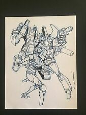 Eric Canete  Original Art - Transformers Arcee Ultra Magnus & Hot Rod