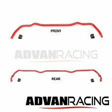 Anti-Sway Bar For Mazda RX-7 1986-91, FRONT+REAR, Chromoly Alloy, Bushing