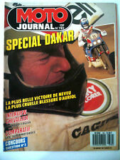 N°782 MOTO JOURNAL Comparatif Supermotardes /Chevallier